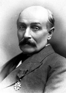 """Sir William Randal Cremer (n. 18 martie 1828 – d. 22 iulie 1908), cunoscut datorită numelui """"Randal"""", parlamentar liberal și pacifist englez -  foto - ro.wikipedia.org"""