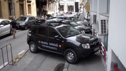 Trotuare pentru masini - foto (captura) - youtube.com