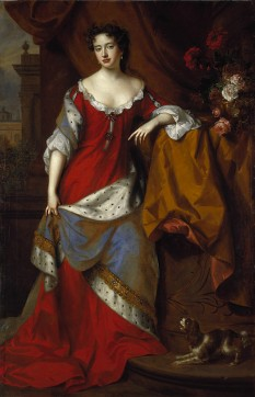 Anna a Marii Britanii (n. 6 februarie 1665 — d. 1 august 1714) regină a Angliei, Scoției și Irlandei, între 1702–1714; de la data de 8 martie 1702, i-a succedat lui William al III-lea al Angliei și al II-lea al Scoției - foto - ro.wikipedia.org