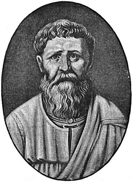 Augustin de Hipona (Sfântul Augustin la catolici, lat. Sanctus Augustinus, Fericitul Augustin la ortodocși[1], n. 13 noiembrie 354, Thagaste, Numidia - d. 28 august 430, Hippo Regius, pe teritoriul Algeriei de azi) a fost un episcop, filozof, teolog și doctor al Bisericii. În scrierile sale, utilizează argumente logice încercând să demonstreze veridicitatea religiei creștine - foto: ro.wikipedia.org