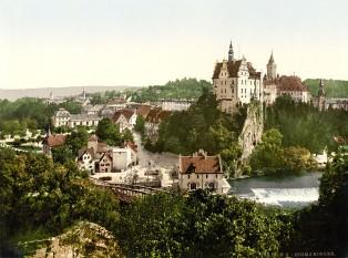 Castelul din Sigmaringen, locul căsătoriei - foto - ro.wikipedia.org