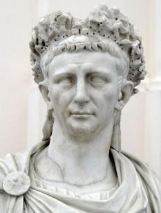 Tiberius Claudius Caesar Augustus Gemanicus (1 august 10 î.Hr. - 13 octombrie 54) al patrulea împărat roman al dinastiei iulio-claudiene; a domnit din 41 până în 54 - foto - ro.wikipedia.org