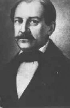 Constantin (Costache) Negruzzi (n. 1808, satul Hermeziu, județul Iași – d. 24 august 1868) om politic și scriitor român din perioada pașoptistă - foto - ro.wikipedia.org