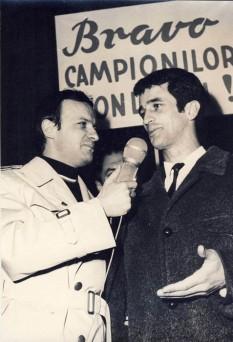 Cristian Gațu (n. 20 august 1945) fost handbalist român care a făcut parte din lotul echipei naționale de handbal a României, care a fost medaliată cu argint olimpic la Montreal 1976 și cu bronz olimpic la München 1972 - foto (Cristian Gațu intervievat de Dumitru Graur)  - ro.wikipedia.org