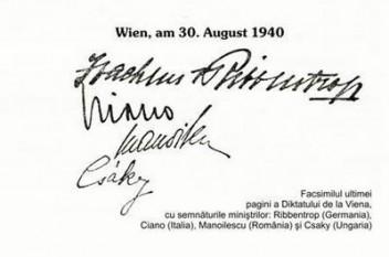 Dictatul de la Viena - foto - cersipamantromanesc.wordpress.com