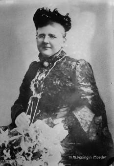 Emma de Waldeck și Pyrmont (2 august 1858 – 20 martie 1934) a doua soție a regelui Willem al III-lea al Țărilor de Jos - foto - ro.wikipedia.org