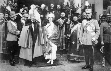 Ferdinand și Maria ca rege și regină - foto - ro.wikipedia.org