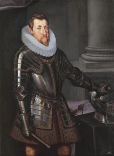 Ferdinand al II-lea (n. 9 iulie 1578, Graz - d. 15 februarie 1637), din Casa de Habsburg, împărat al Imperiului romano-german între 1620-1637. A fost și arhiduce de Stiria din 1617-1619 și a doua oară din 1620-1637 și rege al Ungariei din 1618-1625, totodată rege al Boemiei. A participat la Războiul de 30 de ani între 1618 și 1648 - foto - ro.wikipedia.org