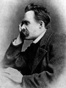Friedrich Wilhelm Nietzsche (n. 15 octombrie 1844, Röcken - d. 25 august 1900, Weimar) este cel mai important filosof al secolului al XIX-lea, care a exercitat o influență remarcabilă, adesea controversată, asupra gândirii filosofice a generațiilor ce i-au urmat - foto (1882)  - ro.wikipedia.org