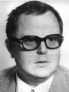 Hans-Joachim Tiedge (June 24, 1937 in Berlin – April 6, 2011 near Moscow) was a head of West Germany's counter-intelligence in the Office for the Protection of the Constitution (BfV) in Cologne. He was revealed to be an East German spy when he defected to the East on August 19, 1985 - foto - en.wikipedia.org