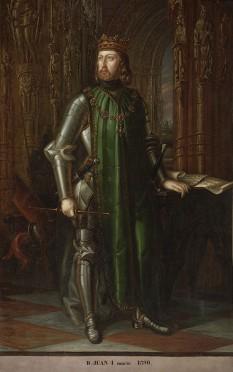 Ioan I (24 august 1358 - 9 octombrie 1390) regele Castiliei din 1379 până în 1390 - foto - ro.wikipedia.org