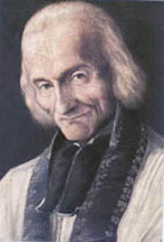 Jean-Baptiste-Marie Vianney, T.O.S.F., (8 May 1786 – 4 August 1859), commonly known in English as St John Vianney, was a French parish priest who is venerated in the Catholic Church as a saint and as the patron saint of all priests - foto - en.wikipedia.org