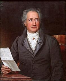 Johann Wolfgang Goethe, înnobilat în anul 1782 (n. 28 august 1749, Frankfurt am Main – d. 22 martie 1832, Weimar) poet german, ilustru gânditor și om de știință, una dintre cele mai de seamă personalități ale culturii universale - foto - ro.wikipedia.org