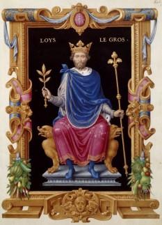 Ludovic al VI-lea cel Gros (1081 − 1137), urmașul lui Filip I, a domnit între 1108-1137 - foto - ro.wikipedia.org