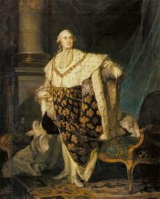 Ludovic al XVI-lea (n. 23 august 1754, Versailles - d. 21 ianuarie 1793, decapitat în Paris) rege al Franței și al Navarei din 1774 și până în 1789, rege al francezilor din 1789 și până în 1793. A fost ultimul reprezentant al Absolutismului și o victimă a Revoluției Franceze - in imagine, Ludovic XVI de Joseph Siffred Duplessis - foto: ro.wikipedia.org