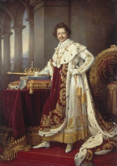 Ludovic I al Bavariei (germană Ludwig I; n. 25 august 1786 – d. 29 februarie 1868) rege al Bavariei, din 1825 până în 1848, când a abdicat în timpul revoluțiilor care au cuprins statele germane, în favoarea fiului său Maximilian al II-lea al Bavariei - foto (Portret de Joseph Stieler, 1825)  - ro.wikipedia.org