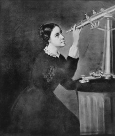 "Maria Mitchell (August 1, 1818 – June 28, 1889) was an American astronomer who, in 1847, by using a telescope, discovered a comet which as a result became known as ""Miss Mitchell's Comet"" - foto - en.wikipedia.org"