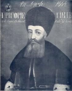 Matei Ghica, domn al Țării Românești: 11 septembrie (firmanul de numire) 1752 - 22 iunie 1753 și al Moldovei: 22 iunie 1753 - 8 februarie 1756 - foto - ro.wikipedia.org