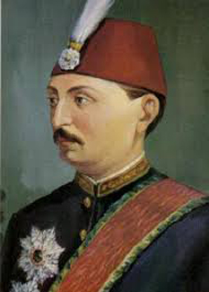 Mehmed Murad al V-lea  (n. 21 septembrie 1840)   a fost  sultan al Imperiului Otoman timp de trei luni, pana la 31 august 1876 - foto - cersipamantromanesc.wordpress.com