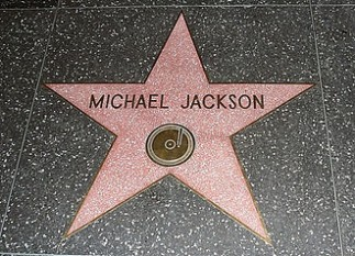 Steaua lui Michael Jackson pe Hollywood Walk of Fame, pusă în 1984 - foto - ro.wikipedia.org