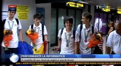 Olimpici la Informatică - foto - stiri.tvr.ro