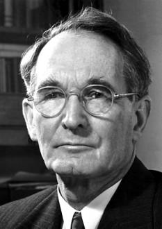 Percy Williams Bridgman (21 aprilie 1882 Cambridge, Massachusetts – 20 august 1961) fizician american, laureat în 1946 al Premiului Nobel pentru Fizică pentru contribuțiile sale aduse fizicii presiunilor înalte - foto - ro.wikipedia.org