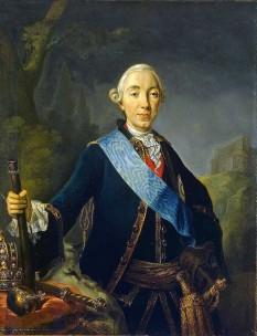 Petru al III-lea (21 februarie 1728 – 17 iulie 1762) împărat al Rusiei pentru șase luni în 1762 - foto - ro.wikipedia.org