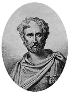 Plinius sau Pliniu cel Bătrân, (în latină : Gaius Plinius Secundus, sau Plinius Maior), s-a născut în anul 23 e.n. la Novum Comum (Como, Italia) și a murit la data de 24 august 79 în Stabies (în latină : Stabiæ). Important și renumit erudit al Imperiului Roman - foto ( gravură imaginară din sec. XIX) - ro.wikipedia.org