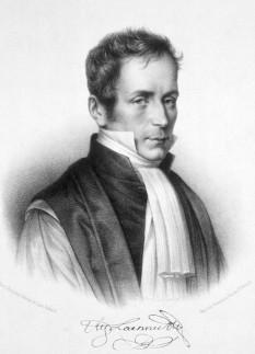 René Théophile Hyacinthe Laënnec sau René-Théophile-Marie-Hyacinthe Laënnec (n. 17 februarie 1781 - d. 13 august 1826) a fost medic francez, inventatorul stetoscopului - foto - en.wikipedia.org