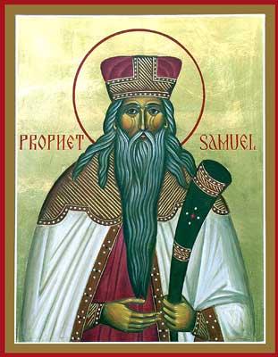 Măritul Profet Samuel a trăit cu aproximativ 1146 de ani înainte de nașterea lui Hristos, fiind cel de-al cincisprezecelea și ultimul dintre judecătorii lui Israel. Prăznuirea lui se face pe 20 august - foto: calendar-ortodox.ro