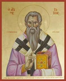Sfântul Apostol Tit - foto - calendar-ortodox.ro