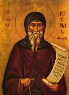 Sf Sfintit Mc Cosma Etolianul - foto - calendar-ortodox.ro