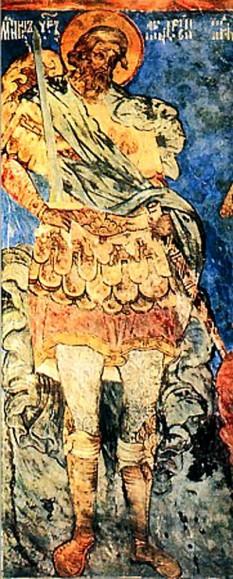 Sfântul mucenic Andrei Stratilat a fost un sfânt militar care a trăit în zilele împăratului Maximian Galeriu (către anul 305). Prăznuirea lui în Biserica Ortodoxă se face la 19 august - foto - doxologia.ro