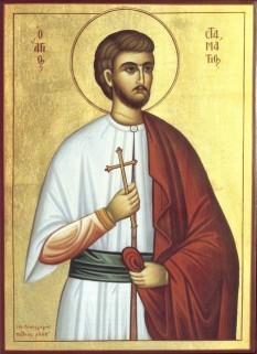 Sf. Mucenic Stamatie - foto - calendar-ortodox.ro