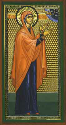 Sfanta proorocita Ana, fiica lui Fanuel - foto - calendar-ortodox.ro
