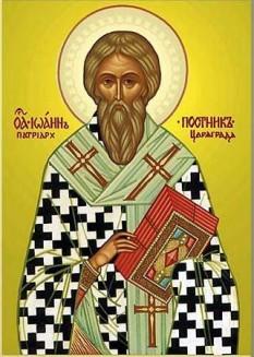 Sfântul Ierarh Ioan, Patriarhul Constantinopolului - foto - doxologia.ro