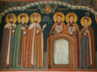 ✝)  Sfinții Martiri Brâncoveni, Constantin Vodă cu cei patru fii ai săi: Constantin, Ștefan, Radu, Matei, și sfetnicul Ianache - foto - doxologia.ro