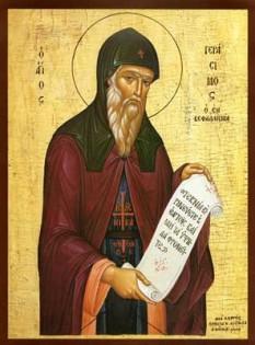 Sfintul Gherasim Noul Ascet din Cefalonia - foto - calendar-ortodox.ro