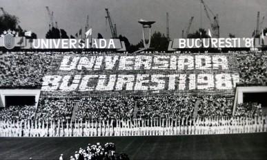 Universiada Bucuresti 1981 - foto - stiri.tvr.ro