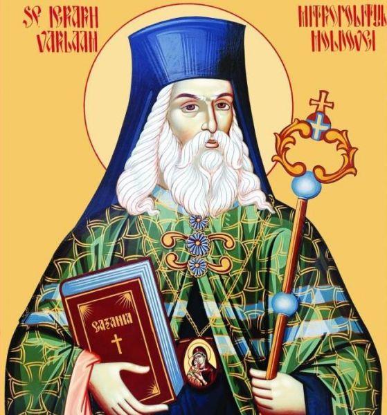 Sfântul Ierarh Varlaam (Moțoc) al Moldovei (n. 1585 - d. 18 august 1657) a fost mitropolit al Moldovei între anii 1632-1653. Este considerat a fi unul dintre întemeietorii limbii române literare. A tradus și compus mai multe lucrări de spiritualitate. Biserica Ortodoxă îl prăznuiește pe 30 august - foto preluat de pe doxologia.ro