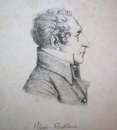 Vincent-Marie Viénot, conte de Vaublanc (n. 2 martie 1756, Fort Dauphin — d. 21 august 1845, Paris) om politic și scriitor francez catolic, monarhist. Din 26 septembrie 1815 până în 7 mai 1816, a îndeplinit funcția de Ministru de Interne al Franței - foto - ro.wikipedia.org