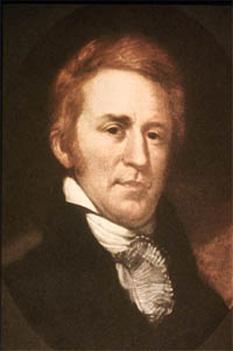 William Clark (n. 1 august 1770, Comitatul Carolina, Virginia – d.1 septembrie 1838, Saint Louis, Missouri) ofițer al Armatei SUA, călător și explorator american, iar ulterior guvernator al Teritoriul Missouri - foto - ro.wikipedia.org