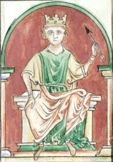 """William al II-lea """"Rufus"""" (c. 1056 – 2 august 1100) rege al Angliei în perioada 1087 - 1100, al treilea fiu al Regelui William I al Angliei (William Cuceritorul), exercitându-și puterea asupra Ducelui Normandiei și având destulă influență în Regatul Scoției -  foto - ro.wikipedia.org"""