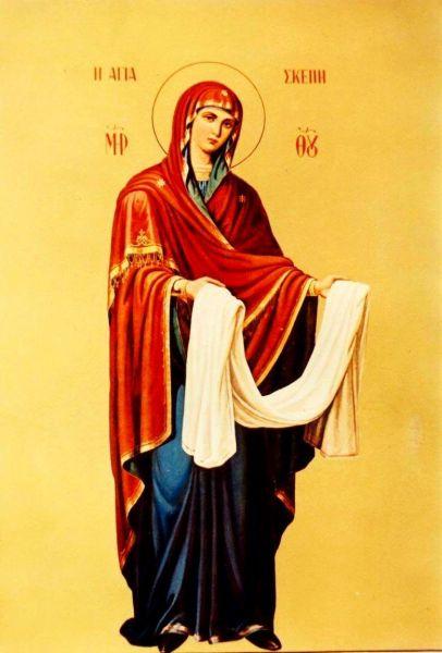 """Acoperământul Maicii Domnului (popular, pe filieră slavo-rusă: Pocrovul) este o sărbătoare a Maicii Domnului care se prăznuiește la 1 octombrie, în amintirea unei minuni întâmplate în biserica Maicii Domnului din cartierul Vlaherne din Constantinopol, pe timpul împăratului Leon al VI-lea """"Filozoful"""" (886 - 912), când Sfânta Fecioară s-a arătat, în toată mărirea ei cerească, Sfântului Andrei cel nebun pentru Hristos, ca ocrotitoare și mijlocitoare a creștinilor. În tradiția greacă, țin această sărbătoare îndeosebi călugării din Sfântul Munte Athos. Începând din 1952, sărbătorirea ei se face în Grecia pe 28 octombrie, ca o sărbătoare națională în care se aniversează respingerea atacului italian din 1940 asupra Greciei. Prin secolul al XII-lea, sărbătoarea a fost introdusă în Rusia, unde a căpătat o mare popularitate, iar de la aceștia a trecut și la români, prăznuindu-se mai mult în mănăstiri. În ultima vreme, sărbătoarea a început să fie din ce în ce mai cunoscută și mai populară și la români, numeroase biserici și mănăstiri din țară și din diaspora românească purtând acest hram - foto: doxologia.ro"""