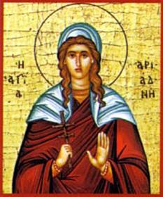 Sf. Mc. Ariadna - foto: calendar-ortodox.ro