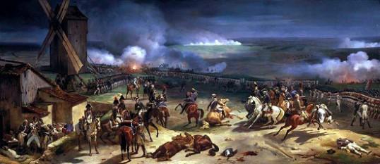 Bătălia de la Valmy - foto: cersipamantromanesc.wordpress.com