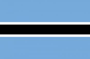 Drapelul Botswanei - foto: ro.wikipedia.org