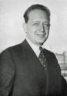 Dag Hjalmar Agne Carl Hammarskjöld (n. 29 iulie 1905 - d. 18 septembrie 1961) a fost un diplomat suedez iar între aprilie 1953 și până la moartea sa într-un misterios accident de avion din septembrie 1961 a fost al doilea Secretar General al Organizației Națiunilor Unite - foto: en.wikipedia.org