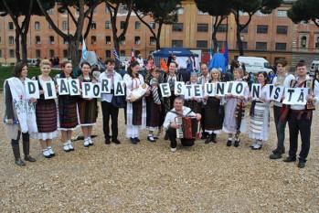 Diaspora Unionista (Roma) - foto: infoprut.ro
