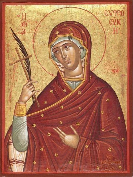 Sfânta Cuvioasă Eufrosina. Prăznuirea sa de către Biserica Ortodoxă se face la data de 25 septembrie - foto: doxologia.ro